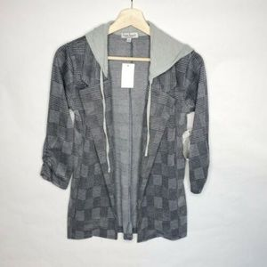 Crave Fame Women's Size Small Hoodie Jacket Blazer